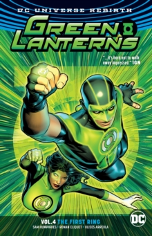 Green Lanterns Vol. 4 The First Rings (Rebirth), Paperback Book