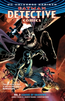 Batman Detective Comics Vol. 3 League Of Shadows (Rebirth), Paperback Book