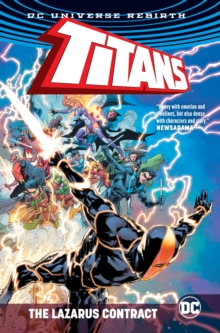 Titans: The Lazarus Contract, Hardback Book