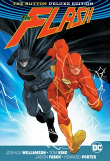 Batman/The Flash The Button Deluxe Edition (International Version), Hardback Book