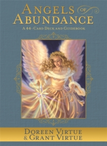 Angels of Abundance Oracle Cards : A 44-Card Deck and Guidebook, Cards Book