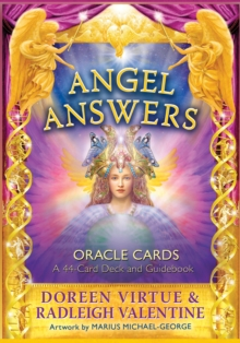 Angel Answers Oracle Cards : A 44-Card Deck and Guidebook, Cards Book