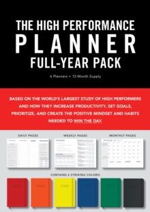 High Performance Planner Full-Year Pack : 6 Planners = 12-Month Supply, Paperback / softback Book