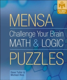Challenge Your Brain Math & Logic Puzzles, Paperback Book