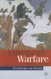European Warfare 1815-2000, PDF eBook