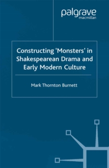 summary of monster culture seven thesis From: monster theory 1 monster culture (seven theses) thesis ii: the monster always escapes we see the damage that the monster wreaks.