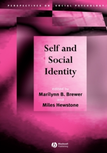 Self and Social Identity, Paperback / softback Book