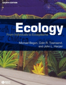 Ecology : From Individuals to Ecosystems, Paperback / softback Book