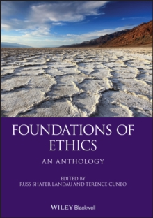 Foundations of Ethics - an Anthology, Paperback Book