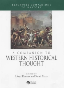 A Companion to Western Historical Thought, Paperback Book