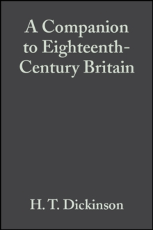 A Companion to Eighteenth-Century Britain, Paperback Book