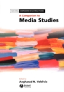 A Companion to Media Studies, PDF eBook