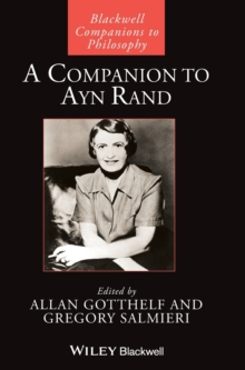 A Companion to Ayn Rand, Hardback Book