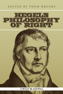 Hegel's Philosophy of Right, Hardback Book