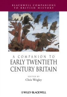 A Companion to Early Twentieth-Century Britain, Paperback / softback Book