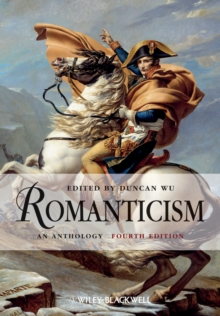 Romanticism : An Anthology, Paperback / softback Book