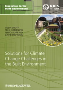 Solutions for Climate Change Challenges in the Built Environment, Hardback Book