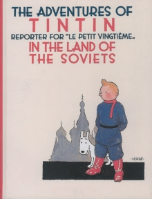 Tintin in the Land of the Soviets, Hardback Book