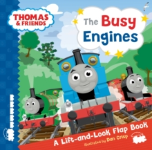 Thomas & Friends Busy Engines Lift-the-Flap Book, Novelty book Book