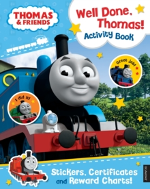Thomas & Friends: Well Done, Thomas! Activity Book, Paperback Book