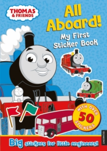 Thomas the Tank Engine All Aboard! My First Sticker Book, Paperback / softback Book