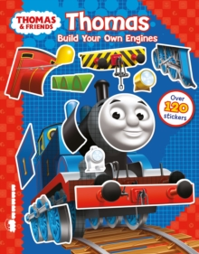 Thomas & Friends: Build Your Own Engines Sticker Book, Novelty book Book