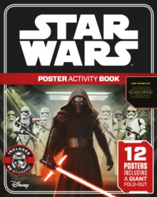 The Force Awakens Poster Activity, Paperback Book