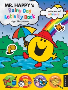 Mr Men: Mr. Happy's Rainy Day Activity Book, Paperback Book