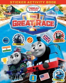 Thomas & Friends: The Great Race Movie Sticker Book, Paperback Book