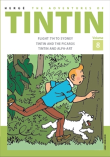 The Adventures of Tintin Volume 8, Hardback Book