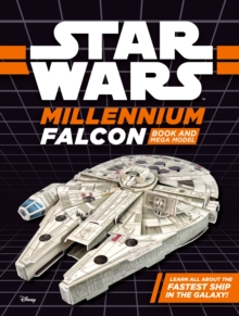 Star Wars Millennium Falcon Book and Mega Model, Novelty book Book