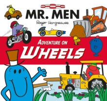 Mr. Men Adventure on Wheels, Paperback Book