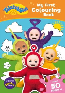 Teletubbies: My First Colouring Book, Paperback Book
