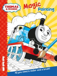Thomas & Friends: Magic Painting, Paperback Book