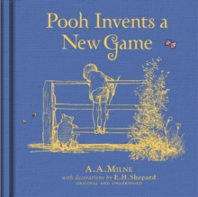 Winnie-the-Pooh: Pooh Invents a New Game, Hardback Book