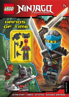 LEGO (R) Ninjago: Hands of Time (Activity Book with Minifigure), Paperback Book