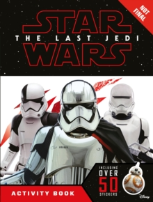 Star Wars The Last Jedi Activity Book with Stickers, Paperback Book