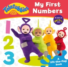 Teletubbies: My First Numbers Lift-the-Flap, Hardback Book