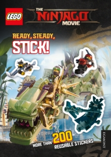 THE LEGO (R) NINJAGO MOVIE: Ready Steady Stick!, Paperback Book