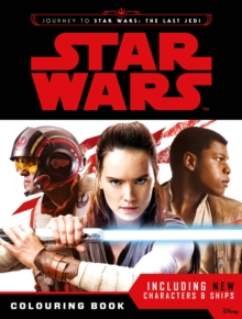 Star Wars: Journey to The Last Jedi Colouring Book, Paperback Book