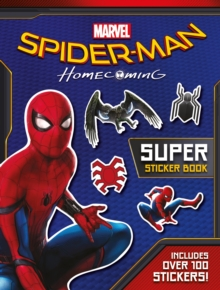 Spider-Man: Homecoming Movie Sticker Book, Paperback Book