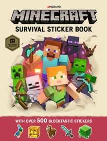 Minecraft Survival Sticker Book : An Official Minecraft Book from Mojang, Paperback Book