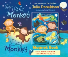 Night Monkey Day Monkey Magnet Book, Hardback Book