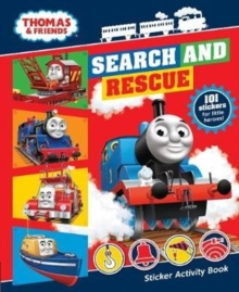 Thomas & Friends: Search and Rescue Sticker Activity Book, Paperback Book