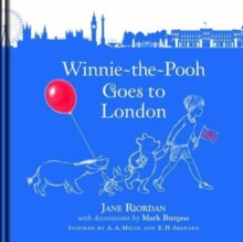 Winnie-the-Pooh Goes To London, Hardback Book