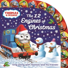 Thomas & Friends: The 12 Engines of Christmas, Board book Book