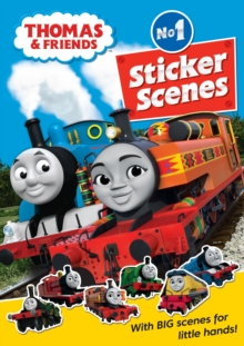 Thomas & Friends: No.1 Sticker Scenes, Paperback / softback Book