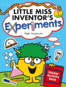 Little Miss Inventor's Experiments : Sticker Activity Book, Paperback / softback Book