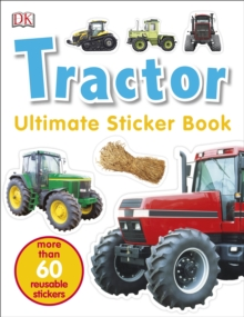 Tractor Ultimate Sticker Book, Paperback Book