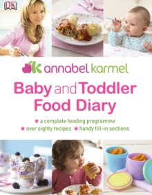 Baby and Toddler Food Diary, PDF eBook